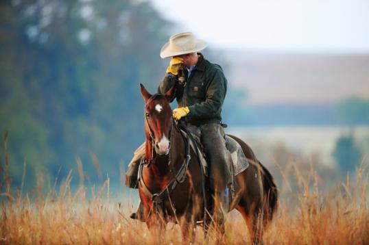 crying cowboy